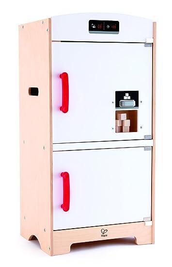 Hape E3153 Spiel Synthetische Holz – Küche – Kühlschrank, Weiß ...