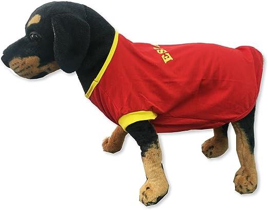 HappyzooMascotas Camiseta Perro España fútbol Talla M: Amazon.es: Productos para mascotas