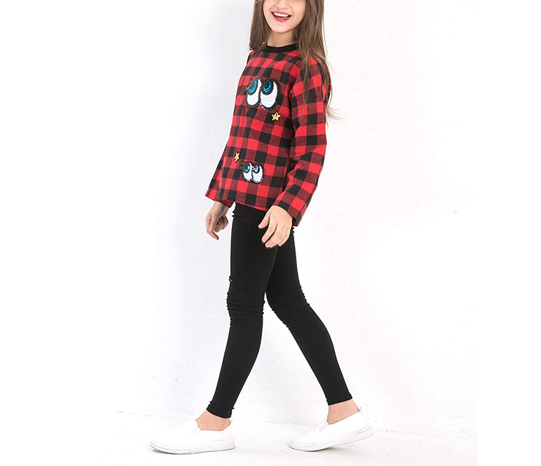 timfly Girls Sweatshirt Long Sleeve Sequined Hoodies Spring Autumn Teenage Girls Clothing Kids Outfit