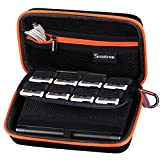 Smatree Carrying Case for NEW Nintendo 3DS, NEW 3DS XL - Black/Orange
