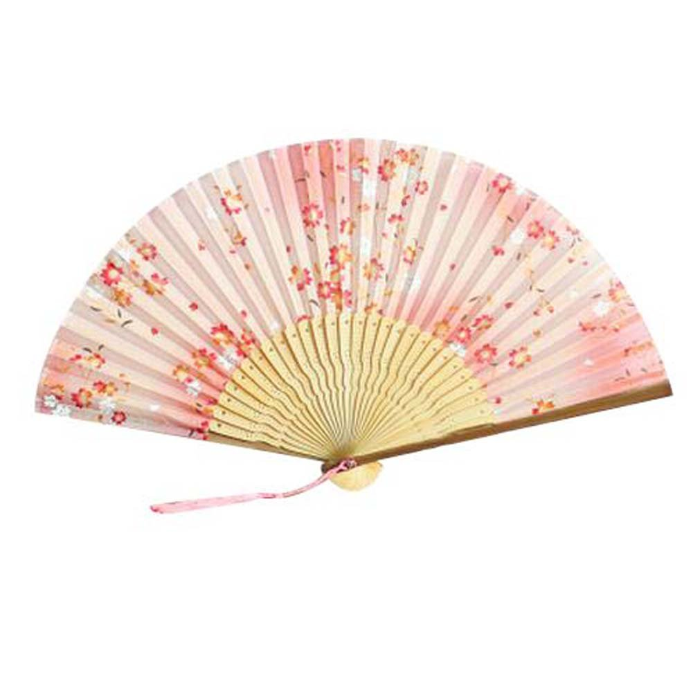 Panda Superstore Retro Style Chinese Fan For Women Portable Handheld Fan Fashion Folding Hand Fan