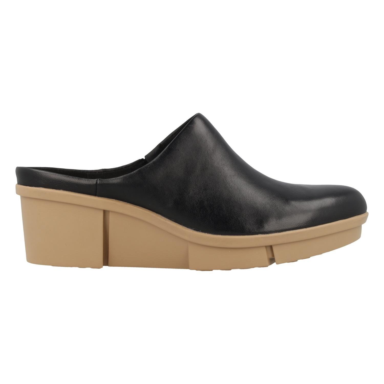 Clarks Schwarz Schuhe 26.130.989 Pola Paige Schwarz Clarks 05d26a