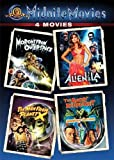 Midnite Movies: 4 Movies (Morons from Outer Space / Alien from L.A. / The Man from Planet X / The Angry Red Planet)