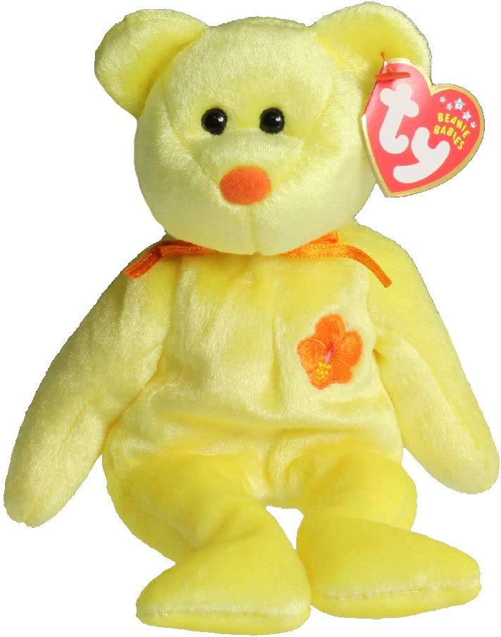 TY Beanie Baby - BUNGA RAYA the Bear (Malaysia Exclusive) [Toy]