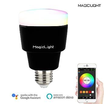 Magiclight WiFi bombilla LED – 3ª Generación – intensidad regulable multicolor cambio de color LED luces
