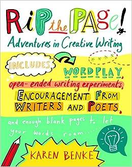 Amazon rip the page adventures in creative writing amazon rip the page adventures in creative writing 8601400141243 karen benke books fandeluxe Image collections