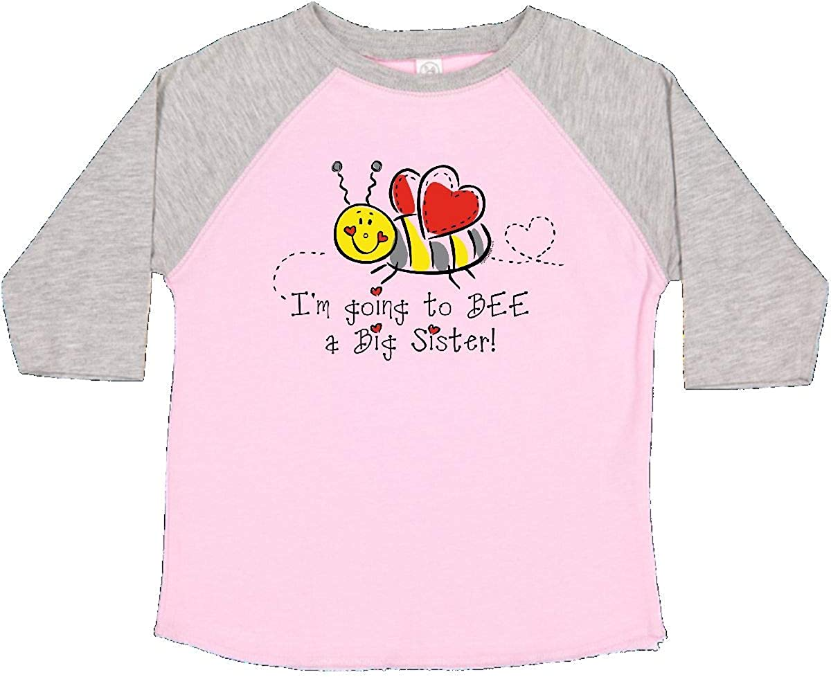 inktastic Bee Future Big Sister Toddler T-Shirt