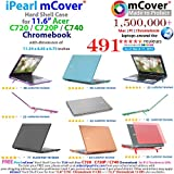 Clear iPearl mCover Hard Shell Case for 11.6 Acer C720 C720P C740 series ChromeBook Laptop (NOT compatible with NEWER 11.6 Acer Chromebook 11 C730 / CB3-111 / CB3-131 series laptop)