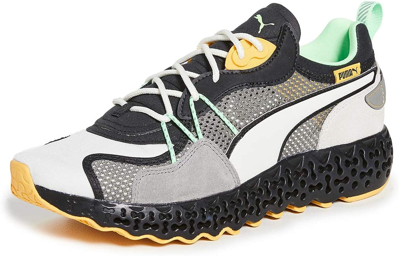 PUMA Select Men's Calibrate Restored Winterized Runners, Vaporous Grey/Puma Black, 8.5 Medium US