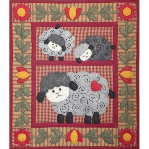 Rachel's Of Greenfield 13 x 15-inch Twin Lambs Quilt Kit by Rachel's Of Greenfield by Rachel's Of Greenfield