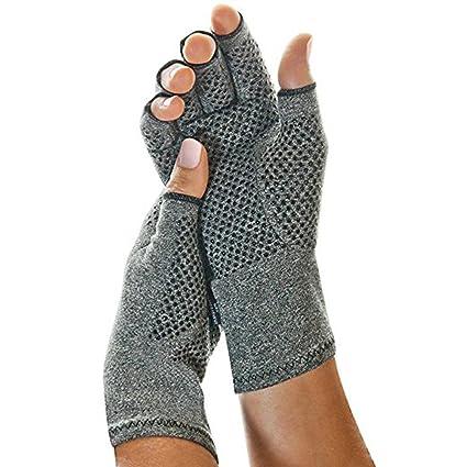 come scegliere ultime versioni scelta migliore Finlon, guanti per artrite, guanti termici senza dita per compressione,  sollievo dal dolore, unisex