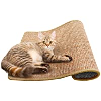 Cat Scratching Mat Sisal Mats Cat Scratching Pad Carpet Cat Scratch Rug Floor Cat Scratchers Sisal Fabric Sisal Carpet Cat Scratching Post Sisal Fabric Scratching Post 15.7 23.6