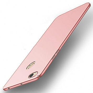 NAVT Xiaomi Redmi Note 5A Funda,Ultrafino Estructura completamente rodeada la estructura de superficie mate Durable PC Protector teléfono funda para Xiaomi Redmi Note 5A Smartphone (oro rosa): Amazon.es: Electrónica