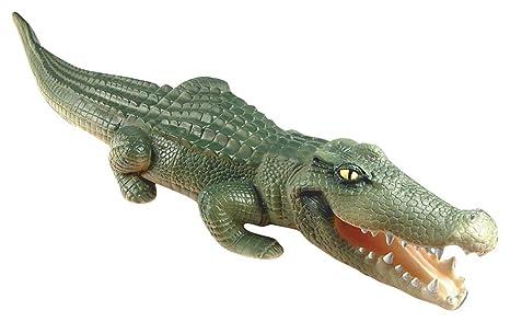Rehabilitación ventaja playvisions flotador un tiempo – largo de piel de cocodrilo hinchable con piscina Predator