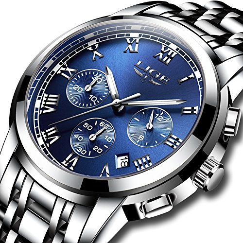 Watches Classic Stainless Business Waterproof product image