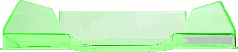 34,7 x 25,5 x 6,5 cm, f/ür Dokumente DIN A4, ideal f/ür Ihre Organisation, robust, stapelbar 6er Set glasklar Exacompta 11323D Combo Midi Briefablage