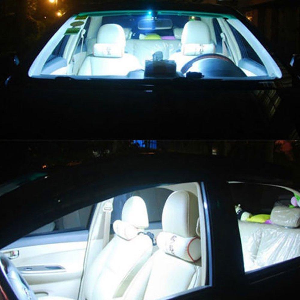 Connoworld Clearance Sale 2Pcs 12V COB LED White Interior Light Lamp Car Caravan Motorhome Reading Lights 31mm by Connoworld (Image #3)