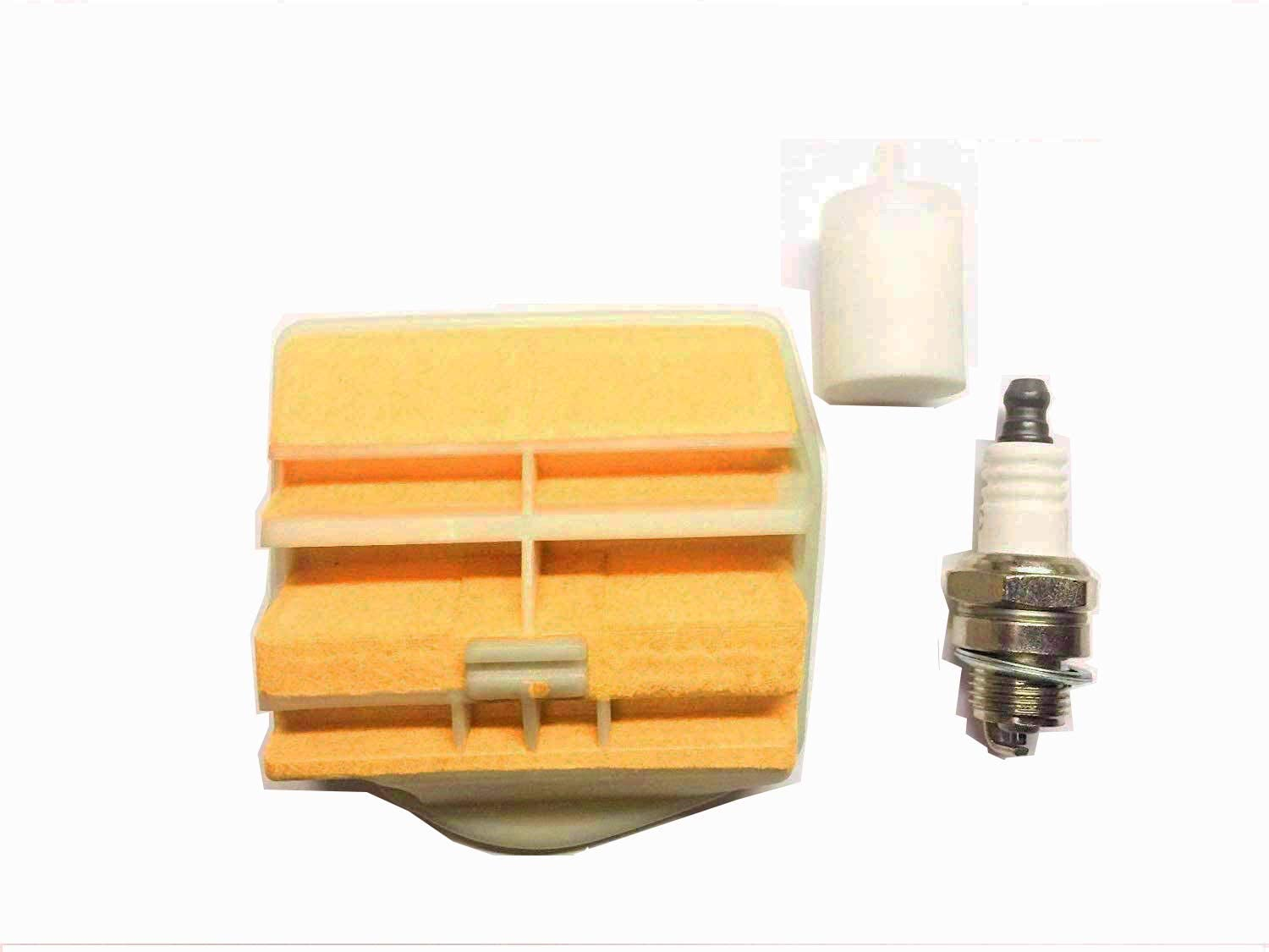 NEW AIR FILTER FUEL FILTER /& SPARK PLUG JONSERED 2250 2245 TUNE UP KIT