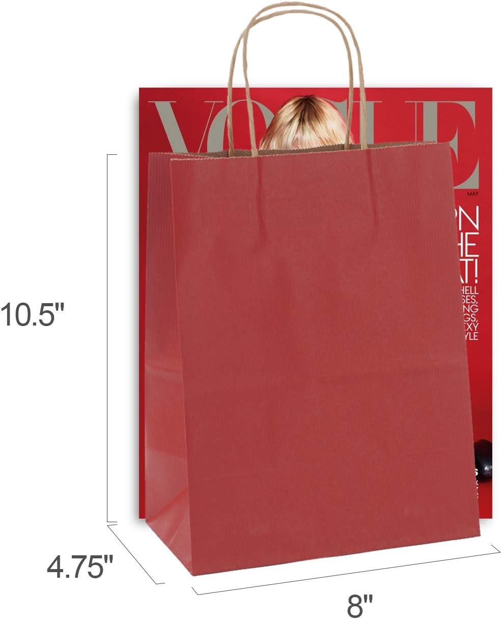Amazon.com: GSSUSA - Bolsas de papel de regalo con asa ...