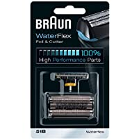 Braun Foil & Cutter Replacement Head Compatible with Waterflex Shaver, 6 Each