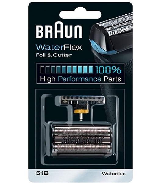 Braun Series 5 Combi 51b Foil And Cutter Replacement Head Pack 1 Count Series 5 Combi 51b Foil And Cutter Replacement Head Pack 1 Count by P&G: Amazon.es: Belleza
