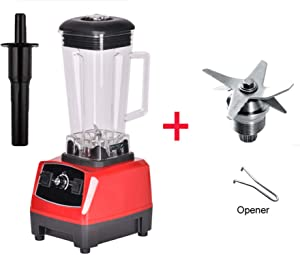 2200W BPA FREE 3HP 2L G5200 high power commercial home professional smoothies power blender food mixer juicer fruit processor,RED BLADES TOOL