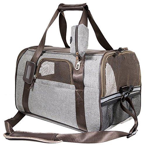 SCM Pets Tasche für Hunde Fluggesellschaft zugelassen weichen Faltbox, Hand tragen tragbar Tasche Home für kleine Hunde…