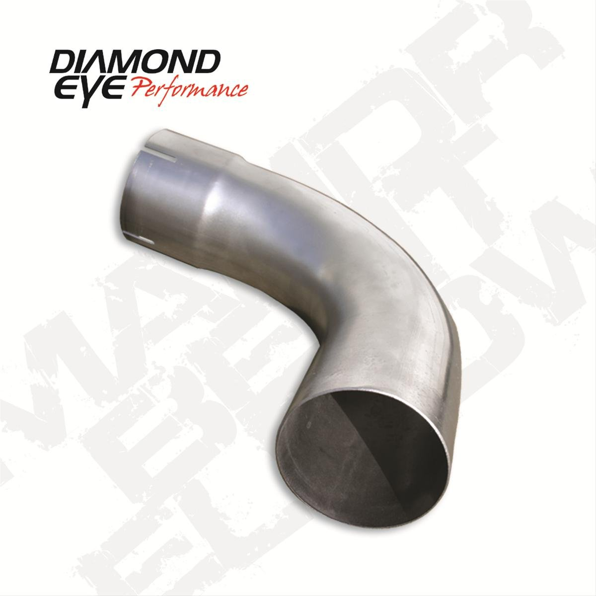 Diamond Eye 529025 Exhaust Pipe, 5' Elbow 5 Elbow