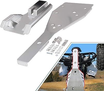Full Chassis Glide /& Swing Arm Skid Plate Gaurd Combo YAMAHA RAPTOR 700 700R