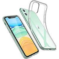 ESR Cover per iPhone 11, Custodia Essential Zero in TPU Morbido, Sottile e Trasparente Compatibile con iPhone 11 da 6.1 Pollici, Custodia Morbida in Silicone Flessibile - Gelatina Trasparente
