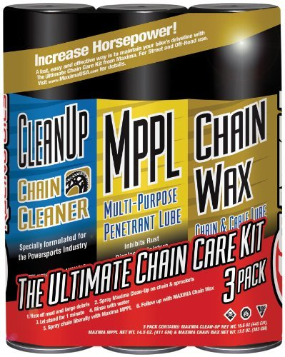 Maxima Chain Wax Ultimate Chain Care Kit 70-749203