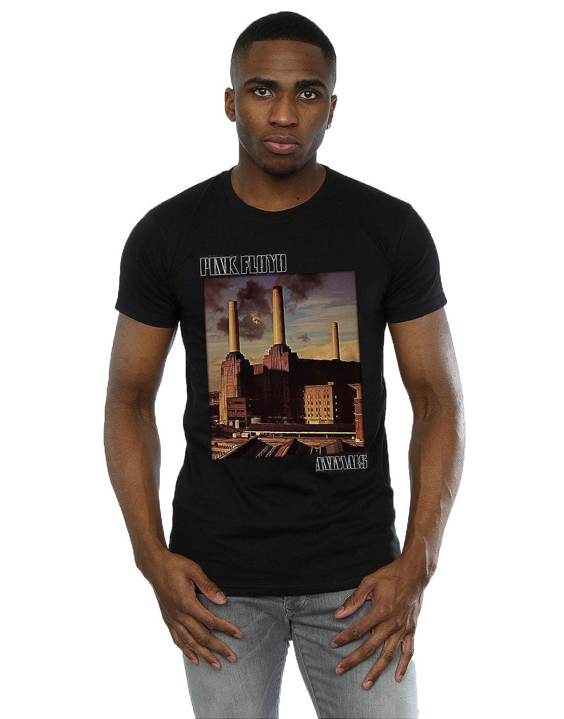 Pink Floyd Herren Animals Poster T-Shirt Absolute Cult