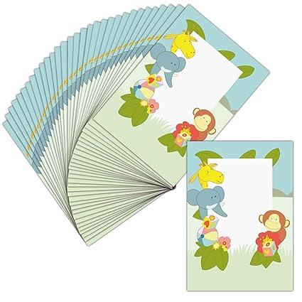 Tarjeta invitaciones nacimiento personalizable - 32 tarjetas ...