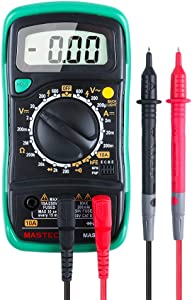 MASTECH MAS830L Pocket Size Digital Multimeters Meter with hFE Resistance AC/DC Voltage Tester