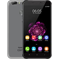 OUKITEL U20 Plus 4G Smartphone Android 6.0 (5.5'' Pantalla, MTK6737T Quad-Core 1.5GHz 2GB Ram,16GB Rom, 13.0MP+0.3MP Dual Cámara Trasera, 5.0MP Cámara Frontal, Fingerprint ID)