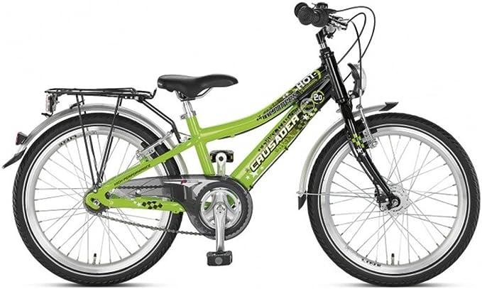 Puky Crusader 20-3 - Bicicleta infantil (aluminio), color verde y ...