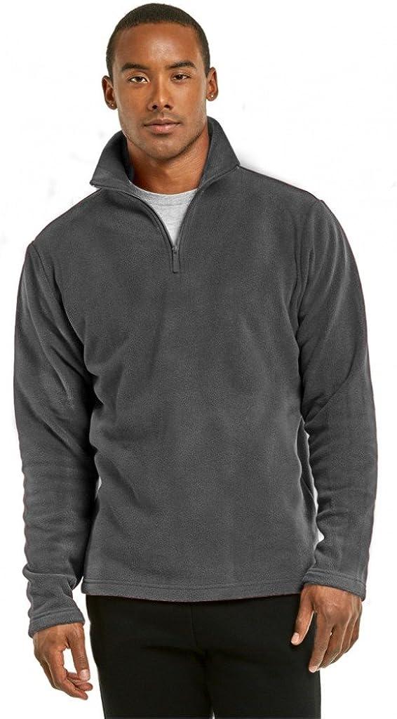 2ND DATE Mens Fleece Quarter Jacket