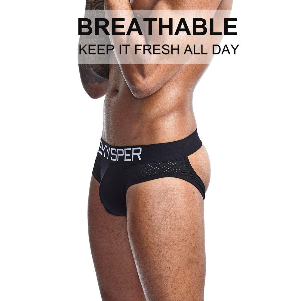 SKYSPER Jockstrap Unterhemd Underwear Unterhosen Sport Fitness Party Radsport Fu/ßball ect