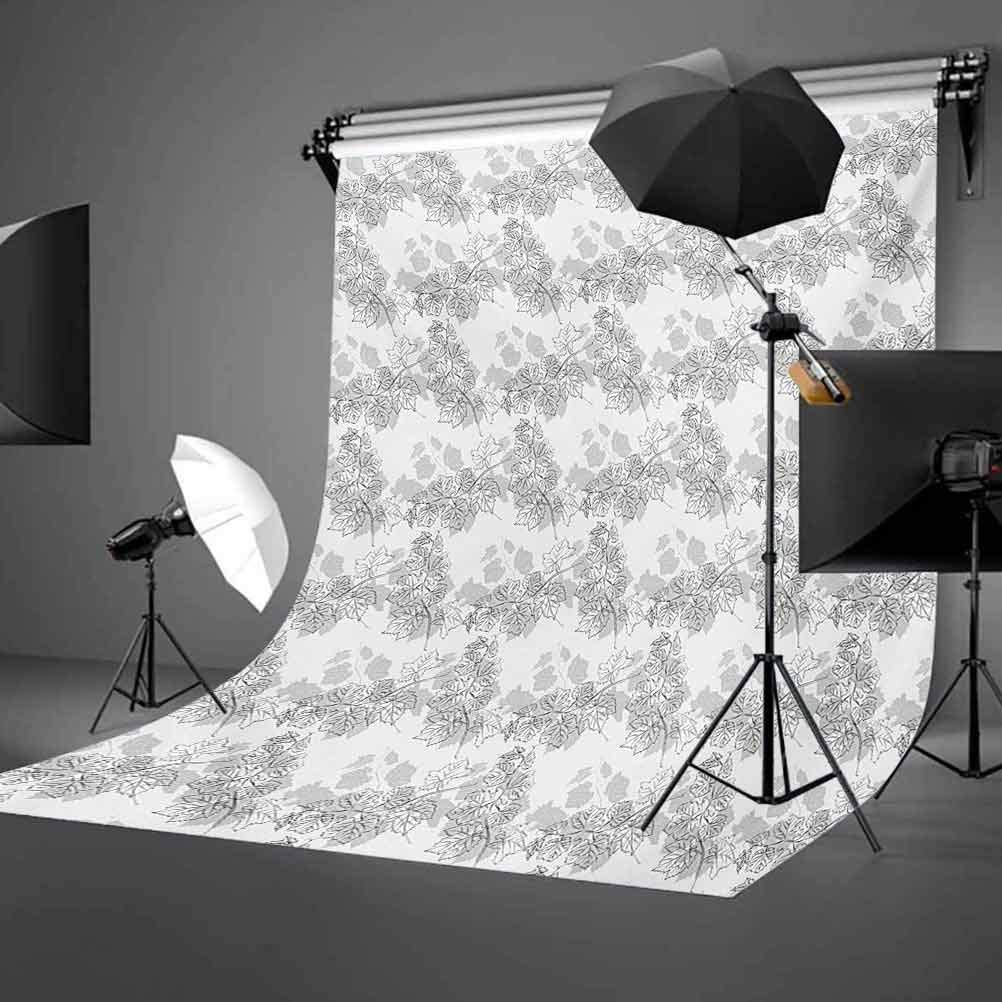 Spherical Disc Shaped Internal Pitch Bowls Spiral Mesh Hoop Concept Design Print Background for Child Baby Shower Photo Vinyl Studio Prop Photobooth Photoshoot Grey 10x12 FT Photography Backdrop