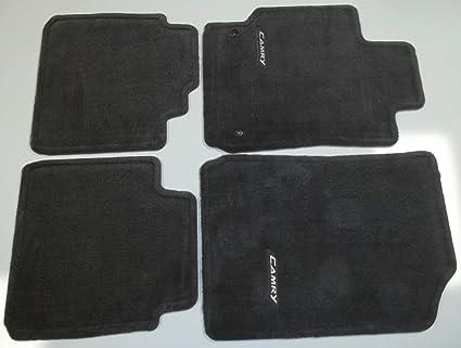 Amazon Com Genuine Toyota Charcoal Dark Gray Carpet Floor Mats