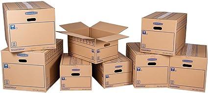 Smoothmove - Kit de mudanza para estudiantes (8 cajas de cartón ...