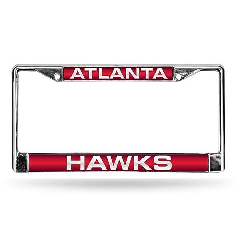 Amazon.com : Rico Industries NBA Atlanta Hawks Laser Cut Inlaid ...