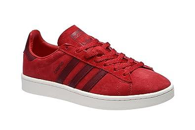 sale retailer 7544f 9c5a6 adidas Campus Scarlet Burgundy White 42.5