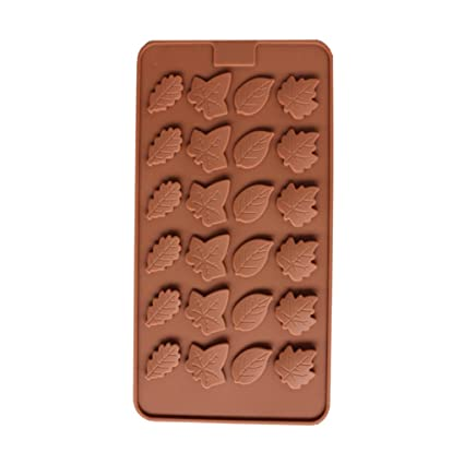 Leaf Silicone Candy Mold Trays for Chocolate Cupcake Toppers Gummies Ice Soap Butter Jelly Cake Decoration