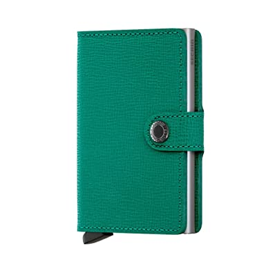 26e7bd5a514 Secrid Mini Wallet Portemonnee Crisple Emerald: Amazon.de: Bekleidung