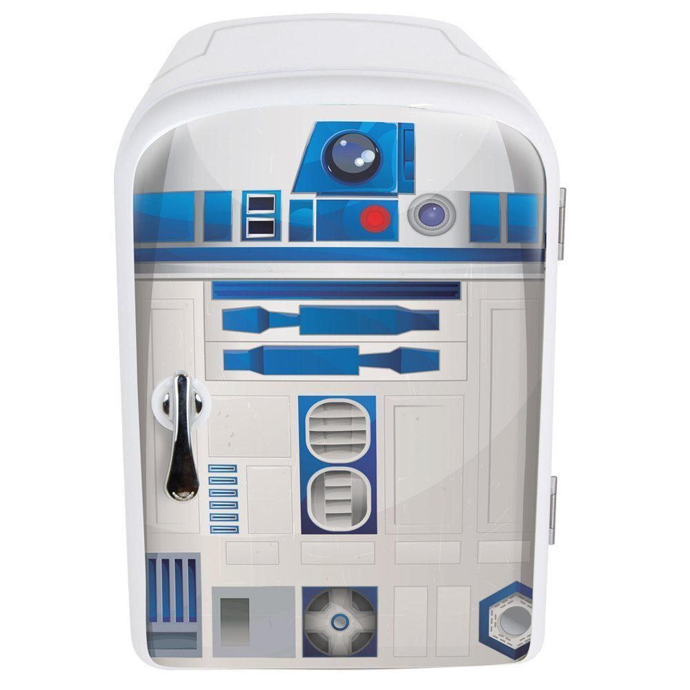Star Wars R2-D2 4 Liter Mini Fridge Thermoelectric Cooler The Robe Factory