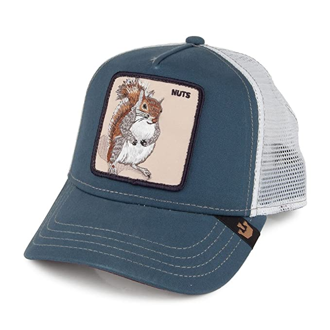Gorra Trucker Nutty de Goorin Bros. - Azul - Ajustable: Amazon.es: Ropa y accesorios