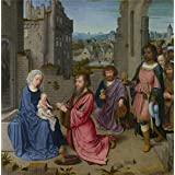 Canvas Prints Of Oil Painting ' Gerard David-Adoration Of The Kings,1515 ' , 24 x 24 inch / 61 x 62 cm , High Quality Polyster Canvas Is For Gifts And Bath Room, Game Room And Gym Decoration, deals