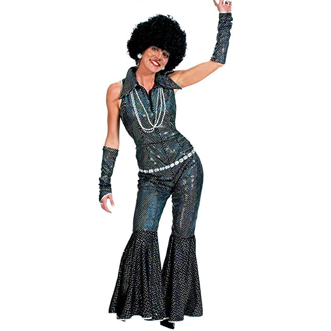 60s Costumes: Hippie, Go Go Dancer, Flower Child Funny Fashion - Boogie Queen Adult Costume $58.99 AT vintagedancer.com