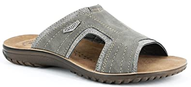 a2ed33994920 INBLU Men s Slippers grey grey 9 grey Size  10  Amazon.co.uk  Shoes ...